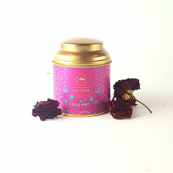 rose mint tea signature tea gifts