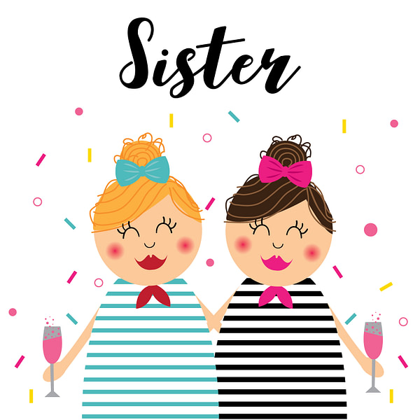 sisters cards